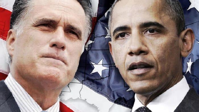 essay about obama vs romney