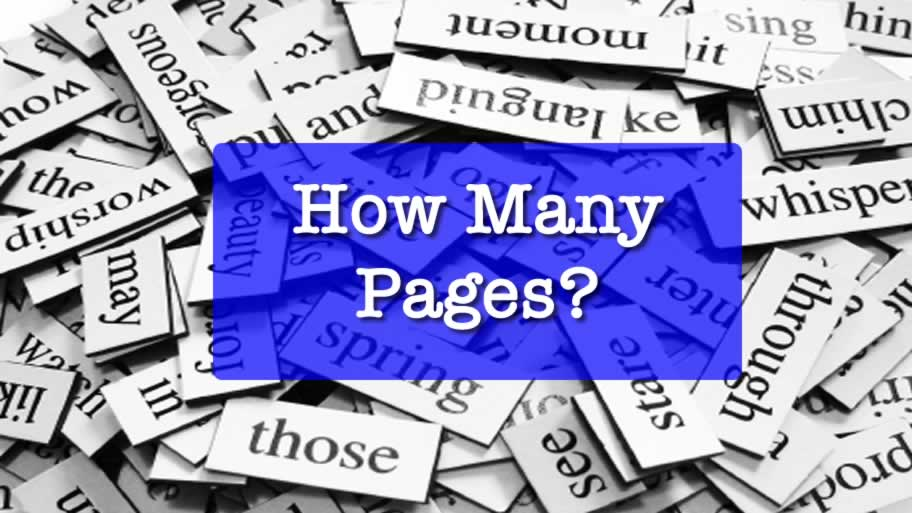 How Many Pages Is 1000 5000 Words